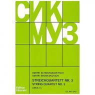 Schostakowitsch, D.: Streichquartett Nr. 3, op. 68