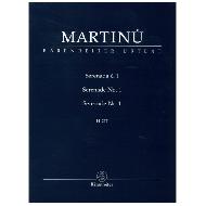 Martinů, B: Serenade Nr. 1 H 217