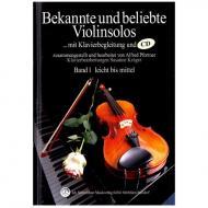 Bekannte und beliebte Violinsolos Band 1 (+CD)