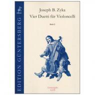Zyka, J.B.: Vier Duetti Heft 2 - Duetto F-Dur & A-Dur