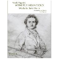 Paganini, N.: Werke für Violine solo