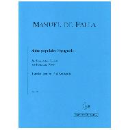 Falla, M. d.: Suite Populaire Espagnole