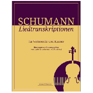Schumann, R.: Liedtranskriptionen