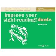 Harris, P.: Improve your sight-reading! Piano Duets Grades 2-3