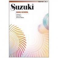 Suzuki Bass School Vol. 3