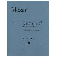 Mozart, W.A.: Streichquartette Band I — Salzburger Divertimenti, Italienische Quartette