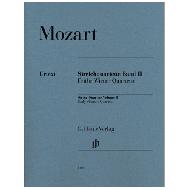 Mozart, W. A.: Streichquartette, Band II (Frühe Wiener Quartette)