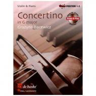 Bacewicz, G.: Violinkonzert G-Dur (+CD)