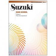 Suzuki Bass School Vol. 5 – Klavierbegleitung