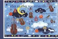 Carte postale art, petite musique de nuit