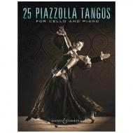 Piazzolla, A.: 25 Piazzolla Tangos for Cello