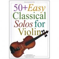 50+ Easy Classical Solos for Violin