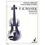 Wanek, F. K.: Violinsonate (1985)