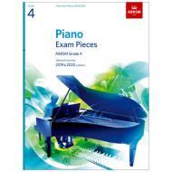 ABRSM: Piano Exam Pieces Grade 4 (2019-2020)