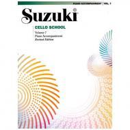 Suzuki Cello School Vol. 7 – Klavierbegleitung