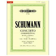 Schumann, R.: Concerto for Cello and Orchestra (Concertstück) Op. 129 a-Moll