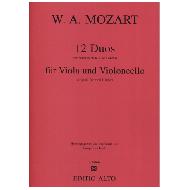 Mozart, W. A.: 12 Duos KV 487