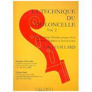 Feuillard, L.R.: La technique du violoncelliste Band 2