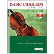 Dabczynski, A. H./Phillips, B.: Basic Fiddlers Philharmonic – Celtic Fiddle Tunes Cello/Bass (+CD)