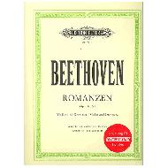 Beethoven, L. v.: 2 Romanzen Op. 40 und Op. 50 für Violine und Orchester (+CD)