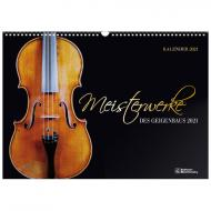 Meisterwerke des Geigenbaus – Kalender 2022