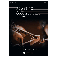 Schwarz, O.: Playing with the Orchestra vol. 1 (+Online Audio)