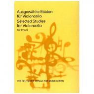 Lösche, H.: Ausgewählte Etüden für Violoncello Teil 2