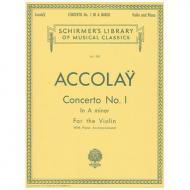 Accolay, J. B.: Concerto Nr. 1 a minor