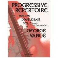 Vance, G.: Progressive Repertoire Band 2 – Klavierbegleitung