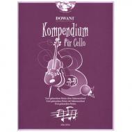 Kompendium für Cello - Band 3 (+CD)