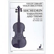 Schtschedrin, R.: Variationen und Thema (1998)