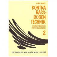 Trumpf, K.: Kompendium der Kontrabass-Bogentechnik (dt./engl.), Band 2