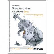 Kanefzky, F.: Dies und Das - Etüdenspaß Band 3