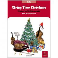 Blackwell, K. & D.: String Time Christmas – Violin (+Online Audio)