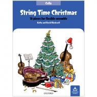 Blackwell, K. & D.: String Time Christmas – Cello (+Online Audio)