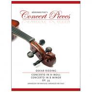 Rieding, O.: Violakonzert Op. 35 h-Moll
