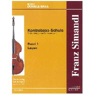 Simandl, F.: Kontrabass-Schule Band 1