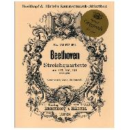 Beethoven, L. v.: Streichquartette Op. 127, Op. 130 und Op. 131