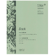 Bach, J. S.: Doppelkonzert BWV 1043 d-Moll – Violine 2 solo