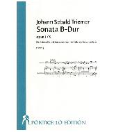 Triemer, J. S.: Violoncellosonate B-Dur Op. 1/5