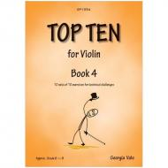 Vale, G.: Top Ten for Violin Book 4