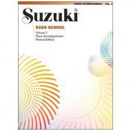 Suzuki Bass School Vol. 3 – Klavierbegleitung