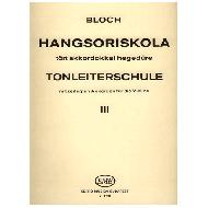 Bloch, J.: Tonleiterschule Op. 5 Nr. 3