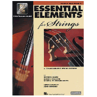 Allen, M.: Essential elements for strings – double bass Vol. 1 (+Online Audio und Video)