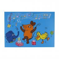 """Carte postale anniversaire sérénade """"Die Maus"""""""