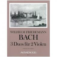 Bach, W. F.: 3 Duos