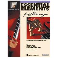 Allen, M.: Essential elements 2000 for strings – double bass Vol. 2 (+Online Audio und Video)