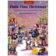 Blackwell, K. & D.: Viola Time Christmas (+CD)