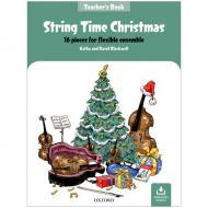 Blackwell, K. & D.: String Time Christmas – Teachers Book (+Online Audio)