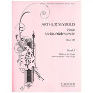 Seybold, A.: Neue Violin-Etüden-Schule Band 5